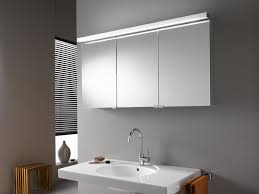 bathroom outstanding lighted bathroom mirror cabinet and modern