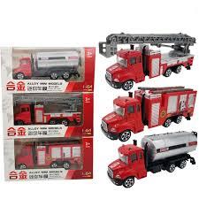 100 Metal Fire Truck Toy Amazoncom Tonmp 3 PCS Large Playset Vehicle Models164