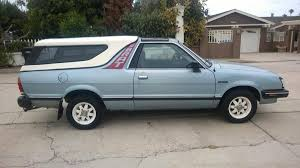 100 Subaru With Truck Bed Hemmings Find Of The Day 1986 Brat GL Hemmings Daily