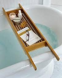 Teak Wood Bathtub Caddy by Teak Shower Caddy