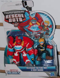 Transformers Rescue Bots Heatwave And Cody Burns (Rescue Bots 2-Pack ...