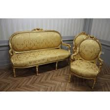 canape style ancien style ancien style baroque salon 2 chaises 1 canapé kesa1100 achat