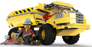 100 Lego City Dump Truck Characters Art Undercover