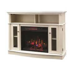 Decor Flame Infrared Electric Stove Manual by Home Decorators Collection Tolleson 48 In Tv Stand Infrared Bow