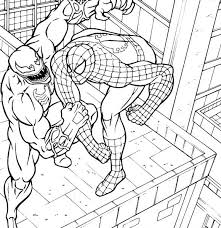 Venom Coloring Pages Printable Me