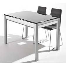 table de cuisine avec tiroir table en verre avec tiroir et allonges dama