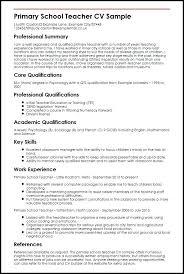Teacher Sample Resume Elementary Resume Tutorial