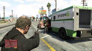 GTA 5 How To Rob An Armored Car In GTA V - YouTube Columbus Police Searching For Three Armed Suspects After Brinks Garda Armored Truck Insssrenterprisesco Car Guard Shot In Sacramento Credit Union Robbery Armored Robbed Outside Wells Fargo Inglewood Abc7com Cmpd Vesgating Of West Charlotte Smart Water Anti System Sign On The Back An Armoured Truck Driver Shoots Atmpted Robber In Little Village Worker Fatally Midcity Bank 1922 Us Mint Denver Suspect Dead Phoenix Youtube By Man And Woman East Side Wsyx