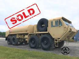 100 Midwest Truck Equipment 1983 Oshkosh M978 Hemtt Fuel Tanker 8x8 Military