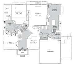 Ryland Homes Floor Plans Georgia by Barrington 2 Story Home Floor Plan Westerville Ohio House For Sale