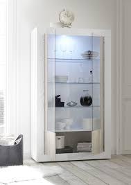 esszimmer leonello mit vitrine pinie weiß