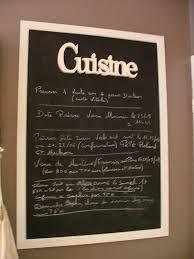 cadre cuisine comment installer un tableau noir dans la cuisine bricobistro