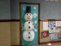 Christmas Classroom Door Decoration Pictures by Snowman Christmas Classroom Door Decorating Ideas Classroom