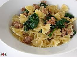 sos cuisine com pasta with sausage gluten free lactose free a soscuisine recipe