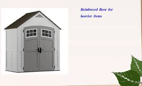 6 X 6 Rubbermaid Storage Shed by Ideas U0026 Tips Appealing Suncast Storage Shed For Home Outdoor
