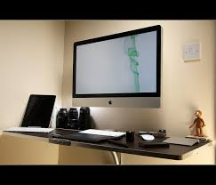 Imac Monitor Desk Mount by Best Setup Ever Mac Setups Ceo U0027s Desk Imac 27 U2033 Retina Macbook