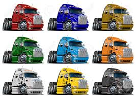 100 Trucks Cartoon Cartoon Semi Truck Clipart Clipground