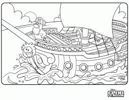 Club Penguin Coloring Pages Printable