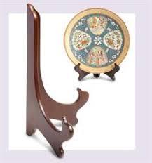 Leeds Display Wooden Plate Stands