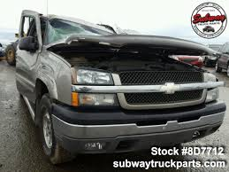 100 Chevy Silverado Truck Parts Used 2003 1500 Subway