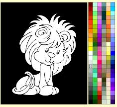Full Size Of Coloring Pagegraceful Lion Painting Games Free Kids Kid Page Charming