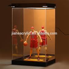 Plexiglass Acrylic Glass Led Light Box Display Case For Action Figure