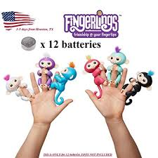 12 Batteries For WowWee Fingerlings Monkey Unicorn Sloth Replacement