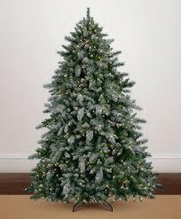 Flocked Christmas Trees Snowy Aspen Spruce Tree Artificial Sale