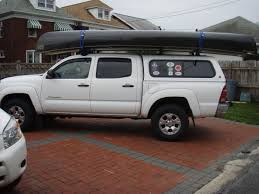 100 Tacoma Truck Cap BWCA CrewCab Pickup With Topper Canoe Transport Question Boundary