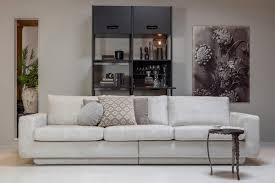 sofa fame 3 sitzer 282 cm struktur samt shell