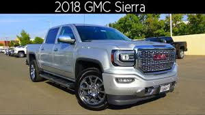 2018 GMC Sierra 1500 Denali 5.3 L V8 Review - YouTube