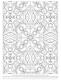 Extraordinary Free Abstract Pattern Adult Coloring Page Have Pages