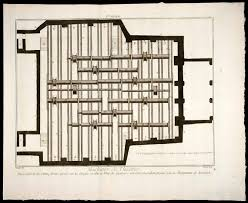 Theater Curtain Fabric Crossword by 1770 Copper Engraving Engineering Plan Machinery Theatre Salle
