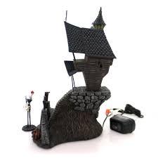 Dept 56 Halloween Village Ebay by Department 56 House Jack Skellington U0027s House Village Lighted