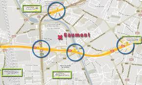 metro denis porte de comment accéder au gaumont stade de