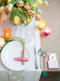 A DIY Colorful Easter Dinner Party From Pottery Barn Easter At Pottery Barn Kids Momtrends Easy Diy Inspired Rabbit Setting For Four Entertaing Made 1 Haing Basket Egg Tree All Sparkled Up Tablcapes Table Settings With Wisteria And Bunny Palm Beach Lately Brunch My Splendid Living Toscana Designs