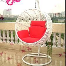 Round Swing Hanging Chair Outdoor Indoor Bird Nest Hammock Balcony Cradle White Ikea