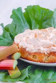 rhabarberkuchen mit baiserhaube flottes rezept