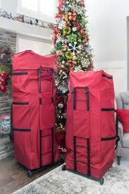 Santas Bags Expandable Upright 9 12 FT Christmas Tree Storage Bag SB 10505