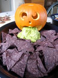 Puking Pumpkin Carving Ideas by Halloween Fun Food Dinnerversions
