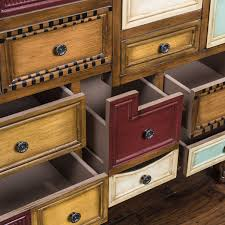 Wood Apothecary Cabinet Plans by Amazon Com Leo Multicolor Wood Chest Of Drawers Cabinet Kitchen