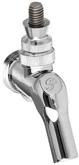 perlick perl draft beer faucet chrome plated brass beer keg