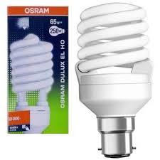 buy osram 65w b 22 spiral cfl at best price in india