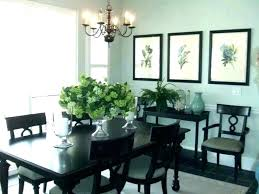 Buffet Decor Dining Room Hutch Decorating Idea
