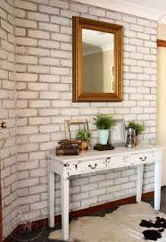 transform your brick wall with milk paint hometalk