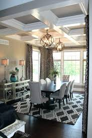 Modern Dining Room Chandeliers Luxury Unique Transitional Crystal Glass For Formal