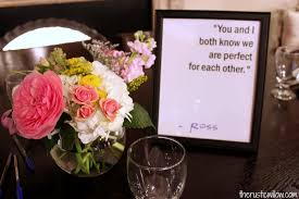 Bridal Shower Qoutes by The Ultimate Friends Tv Show Bridal Shower The Rustic Willow