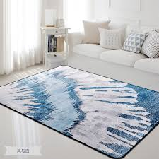 tapis pour chambre grande taille 160 230 cm bleu tapis et tapis pour la maison salon