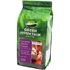 Green Mountain Coffee Flavored Caramel Vanilla Cream Ground