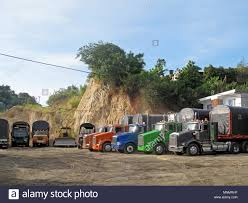Red Trucks And Row Stock Photos & Red Trucks And Row Stock Images ...